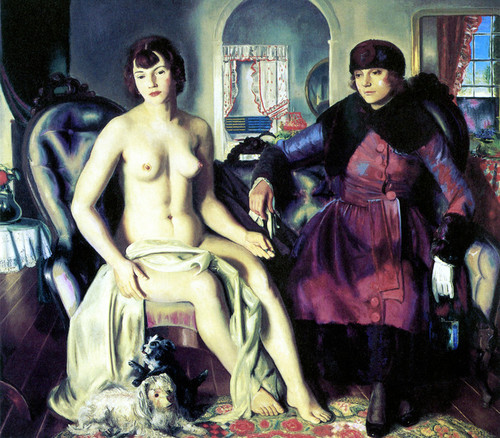 Art Prints of Two Women by George Bellows