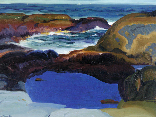 Art Prints of The Blue Pool by George Bellows