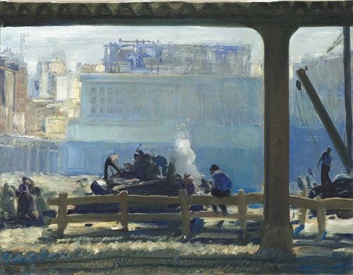 Art Prints of Blue Morning by George Bellows