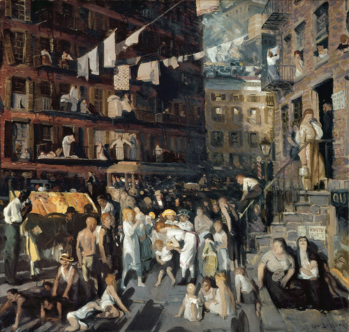 Art Prints of Cliff Dwellers by George Bellows