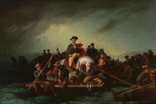 Art Prints of Washington Crossing the Delaware, 1856 by George Caleb Bingham