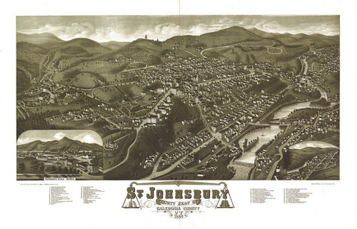 Art Prints of St. Johnsbury, Caledonia County, Vermont by George E. Norris