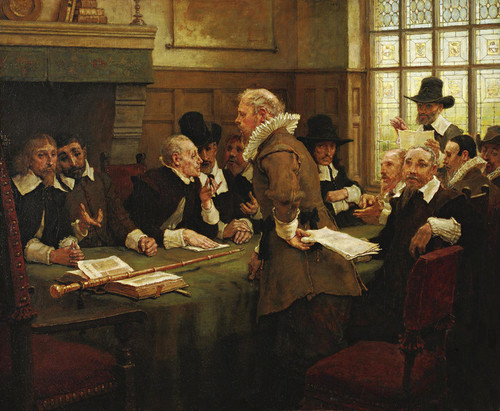 Art Prints of The Puritan Covenant by George Henry Boughton