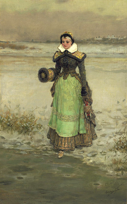 Art Prints of Pamela by George Henry Boughton