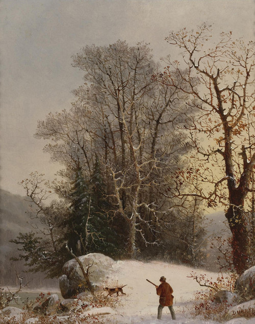 Art Prints of The Hunter by George Henry Durrie
