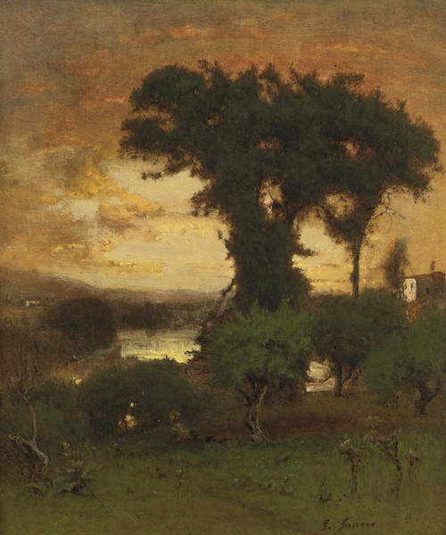 Art Prints of Afterglow by George Inness