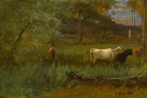 Art Prints of A Pastoral Scene by George Inness