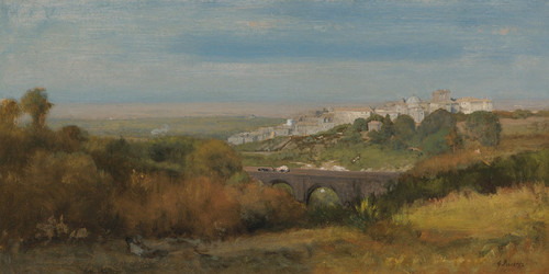 Art Prints of Albano, Italy (The Roman Campagna) by George Inness