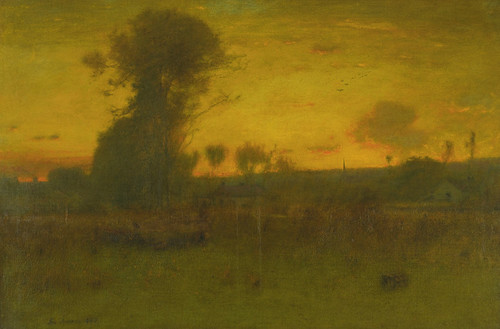 Art Prints of After Sundown, Montclair, New Jersey by George Inness