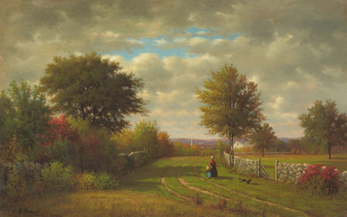 Art Prints of Going to Market by George Inness