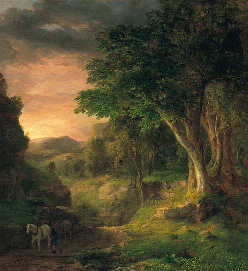 Art Prints of In the Berkshires by George Inness