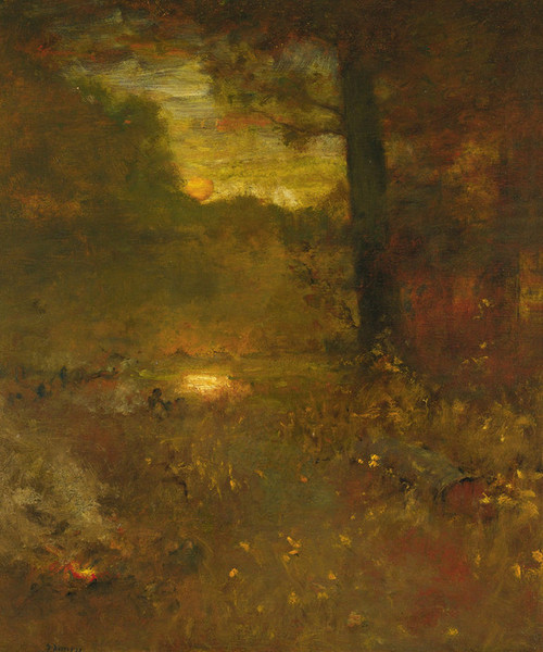 Art Prints of Sundown, the Close of Day by George Inness