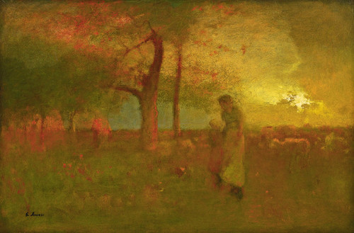 Art Prints of Passing Storm by George Inness