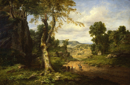 Art Prints of In Berkshire County, Massachusetts by George Inness