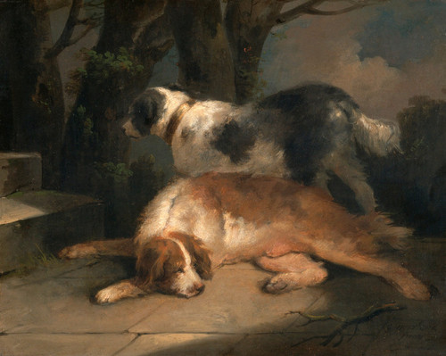 Art Prints of Setters by George Morland