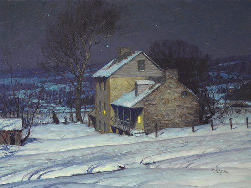 Art Prints of Homestead at Night by George Sotter