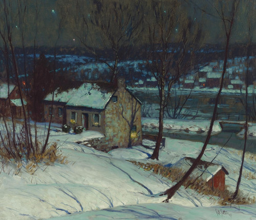 Art Prints of Delaware River House by George Sotter