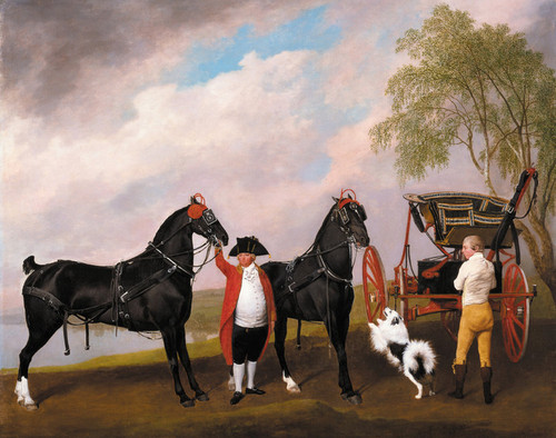 Art Prints of The Phaeton of the Prince of Wales by George Stubbs