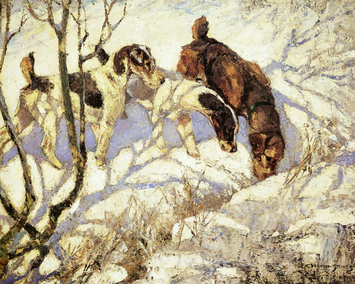 Art Prints of Winter Sports by George Vernon Stokes