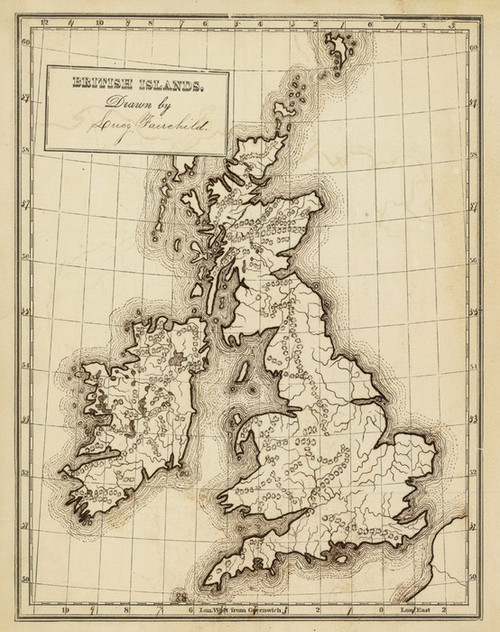 Art Prints of British Islands, 1850 (0289009) by George W. Fitch and Lucy Fairchild