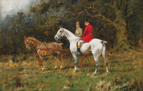 Art Prints of On the Way to the Meet by George Wright