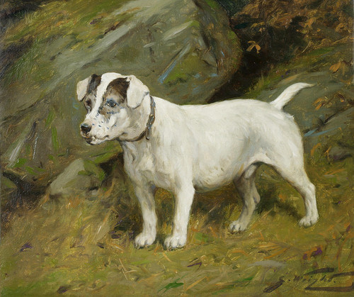 Art Prints of The Terrier Jock by George Wright