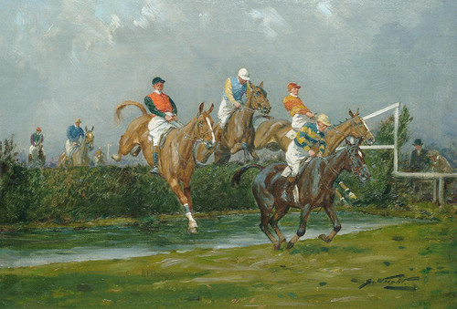 Art Prints of The Water Jump by George Wright