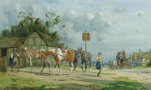 Art Prints of The Tired Team by George Wright