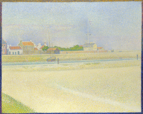 Art Prints of Der Kanal von Gravelines Grand Fort Philippe by Georges Seurat