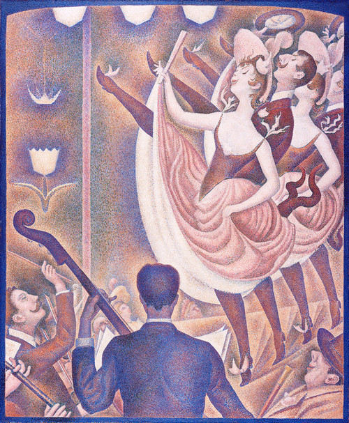 Art Prints of La Chahut or The Ruckus by Georges Seurat