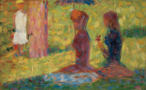 Art Prints of Study of Figures for La Grande Jatte by Georges Seurat