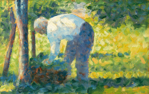 Art Prints of The Gardener by Georges Seurat