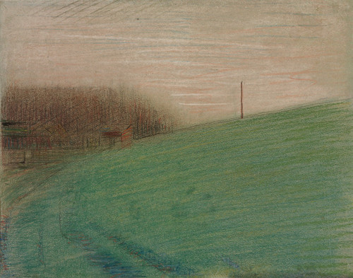 Art Prints of The Meadow by Georges Seurat