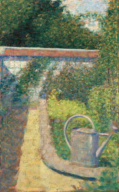 Art Prints of The Watering Can, Garden at Le Raincy, 1883 by Georges Seurat