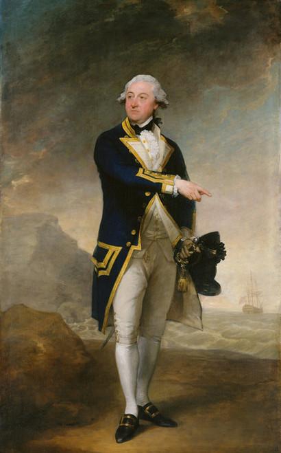 Art Prints of Captain John Gell by Gilbert Stuart