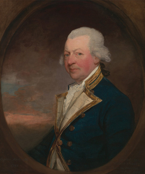 Art Prints of Captain John Macbride by Gilbert Stuart