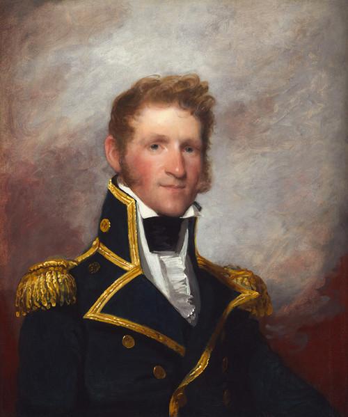 Art Prints of Commodore Thomas Macdonough by Gilbert Stuart
