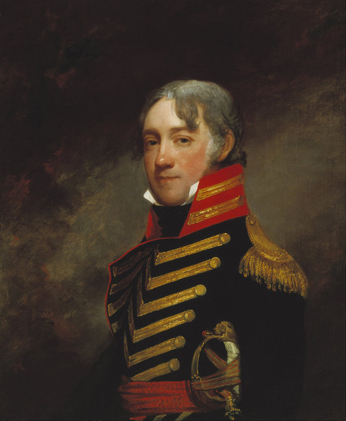 Art Prints of General John R. Fenwick by Gilbert Stuart