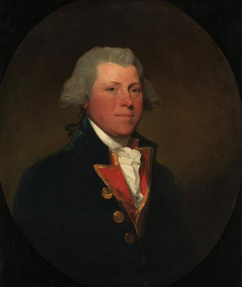 Art Prints of James Delancey by Gilbert Stuart