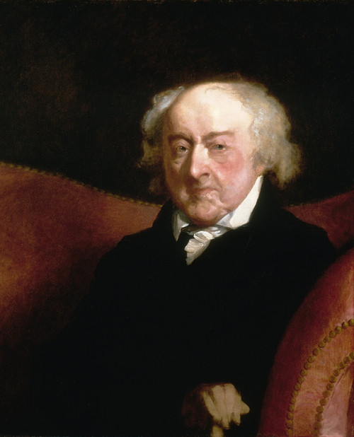 Art Prints of John Adams II by Gilbert Stuart