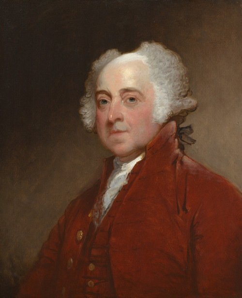 Art Prints of John Adams by Gilbert Stuart