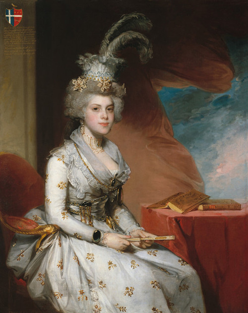 Art Prints of Matilda Stoughton de Jaudenes by Gilbert Stuart