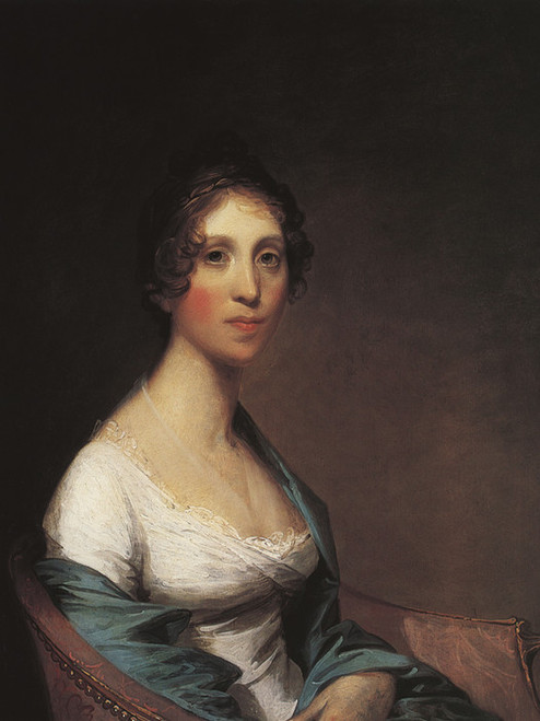 Art Prints of Mrs. Josiah Quincy by Gilbert Stuart