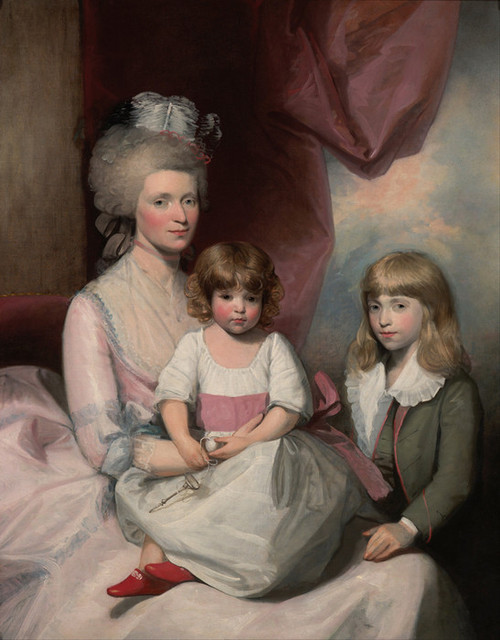 Art Prints of Portrait of a Family by Gilbert Stuart