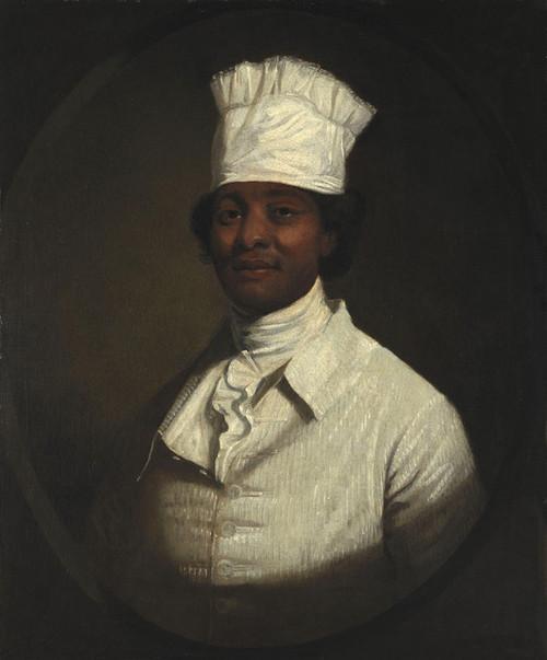 Art Prints of Portrait of George Washington's Cook by Gilbert Stuart