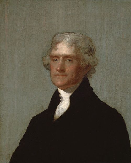 Art Prints of Thomas Jefferson by Gilbert Stuart