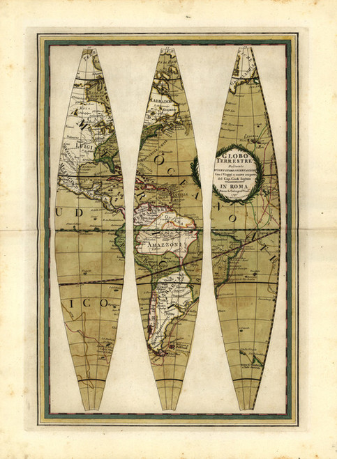 Art Prints of Globe, III by Giovanni Maria
