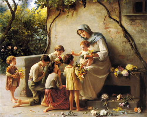 Art Prints of Adoration by Giuseppe Magni