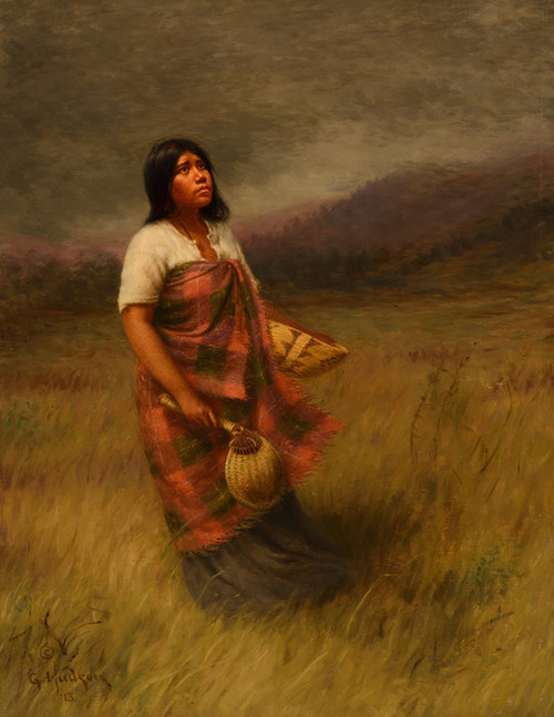 Art Prints of The Call of Makila Mad Tha by Grace Carpenter Hudson