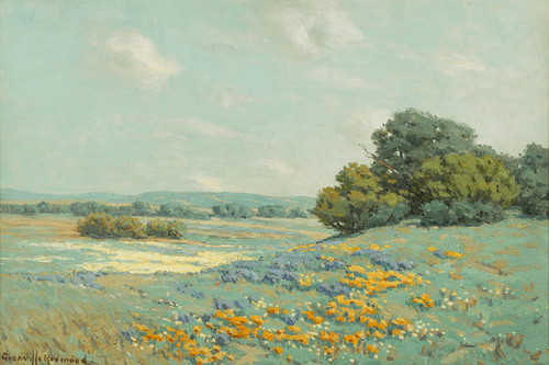 Art Prints of California Poppy Field by Granville Redmond